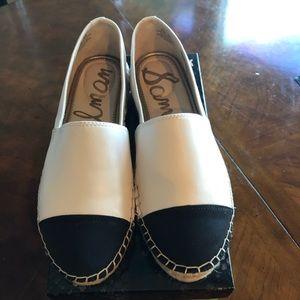 Sam Edelman Krissy  leather espadrille SZ 8.5
